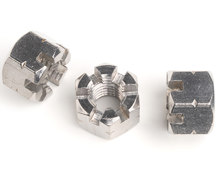 Stainless Steel Hexagon Castle Nuts