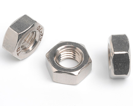 Stainless Steel Hexagon Full Nuts ISO 4032
