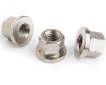 Stainless Steel Hexagon Collar Nut DIN 6331