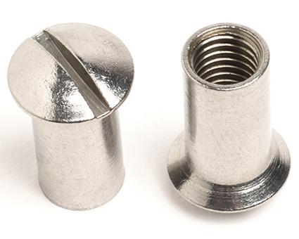 Stainless Steel Slot Raised Countersunk Sleeve Nuts
