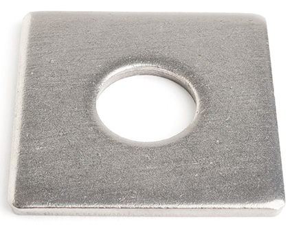 Stainless Steel Square Wood Construction Washers DIN 436