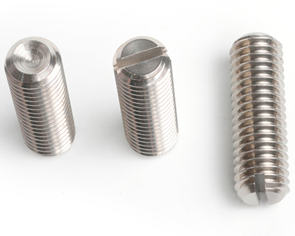 Stainless Steel Slotted Set Screws Cup Point