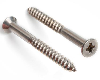 Stainless Steel Pozi Countersunk Woodscrews