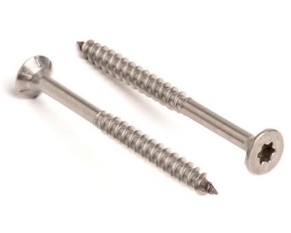 Stainless Steel TX Csk Chipboard Screws Cutting Tip